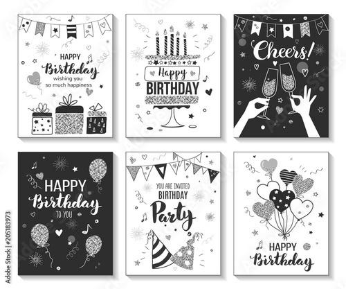 Black And White Party Invitation Template from www.sandhills.ie